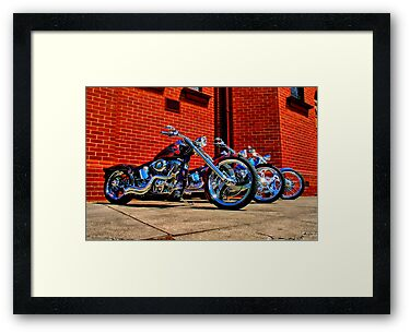 """Harleys at Heaven's Door"" by Phil Thomson IPA"