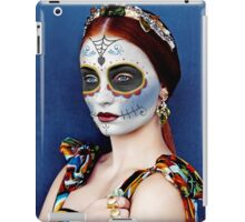 Sophie Turner Day of the Dead, Dia de los Muertos, Makeup iPad Case/Skin