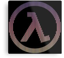Half-Life Lambda Metal Print