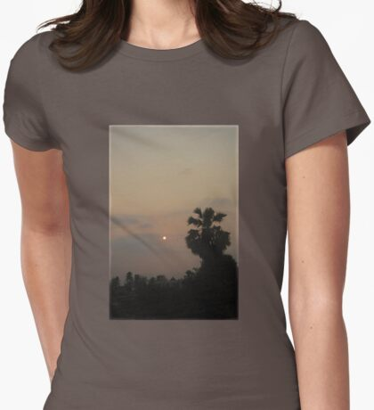 Sunrise Haze Womens Fitted T-Shirt