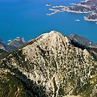 Mount Panaitoliko & Kremasta lake, aerial view, Greece by airphoto-gr