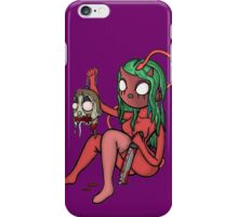 Carnihell #17 demon pinup iPhone Case/Skin