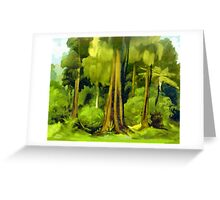 Forest Edge Greeting Card