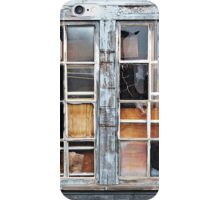Wood in the Windows  iPhone Case/Skin