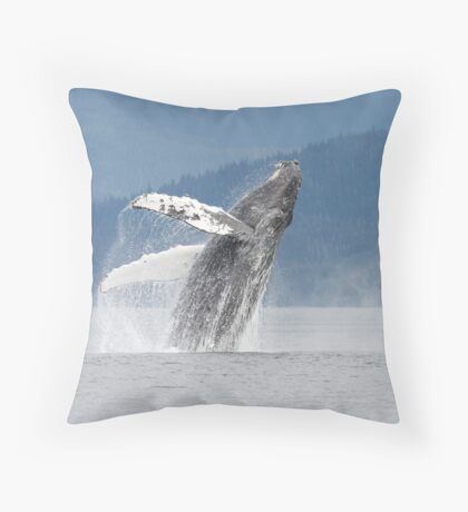 Dancing With The Waves (the prequel) Throw Pillow