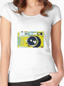 Leica Women's Fitted Scoop T-Shirt