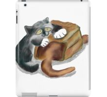Paper Bag and Two Kittens iPad Case/Skin