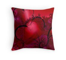 Passion Flowing Throw Pillow