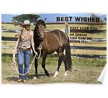 BEST WISHES Poster