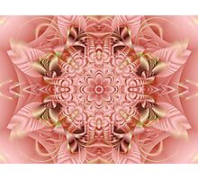 Peach Passion Photographic Print