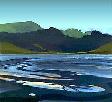 Low Tide, Late Evening by Patricia Howitt