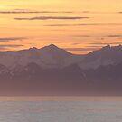 Volcano Sunset by Gina Ruttle  (Whalegeek)