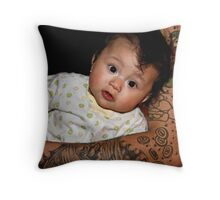 Wrapped In Tats Throw Pillow