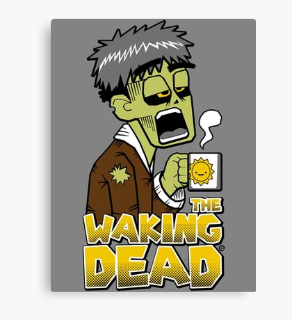 The Waking Dead Canvas Print