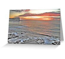 Promise - Avalon Beach Morning - The HDR Experience Greeting Card