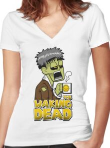 The Waking Dead Women's Fitted V-Neck T-Shirt