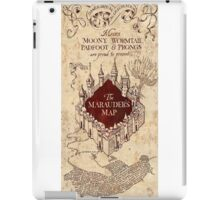 Harry Potter The Marauders Map iPad Case/Skin