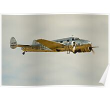 Lockheed 12A Poster