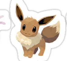 [Sticker] Eevee Espeon Umbreon Low Poly Sticker