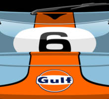 Ford GT40 Gulf colours Sticker