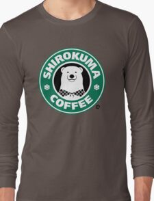 Shirokuma Coffee Long Sleeve T-Shirt