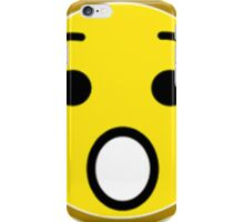 Shocked Yellow Smiley Face iPhone Case/Skin