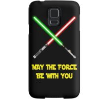 May the force be with you Samsung Galaxy Case/Skin