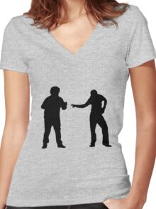Superbad - Shirt Women's Fitted V-Neck T-Shirt