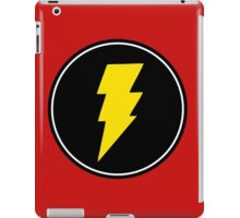 Lightning bolt - Music iPad Case/Skin