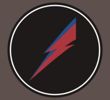 Red/Blue Lightning Bolt  Kids Clothes