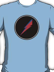 Red/Blue Lightning Bolt  T-Shirt