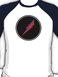 Red/Blue Lightning Bolt  T-Shirt