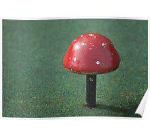 Not Mushroom Poster