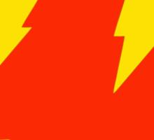 Smile Lightning Bolt Sticker