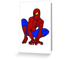 Spiderman! Greeting Card