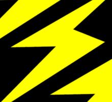 3 Lightning Bolt Superhero Sticker