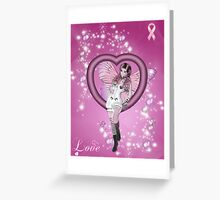 The Breast Cancer Care Fairy Greeting Card