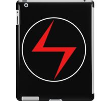 Red Lightning Bolt iPad Case/Skin