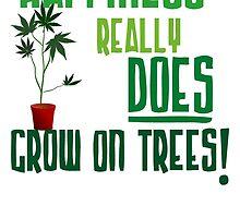 Weed Plant Funny by addiyat