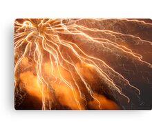 Firework Metal Print