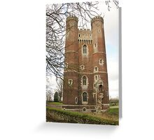 Tattershall Castle - Lincolnshire Greeting Card