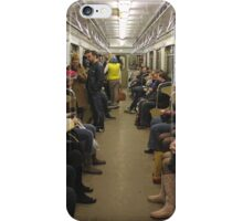 Moscow - Metro Carriage iPhone Case/Skin