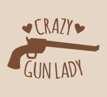 Crazy Gun Lady by jazzydevil