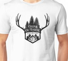 Think Outside - No box required! Unisex T-Shirt