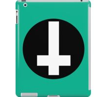 Round Inverted Cross iPad Case/Skin