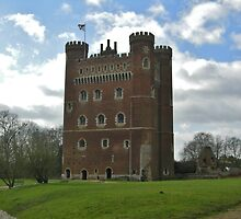 View of Tattershall Castle - Lincolnshire by Lucy Wilson