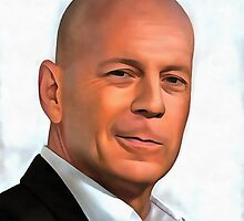 Bruce Willis by Portraitist9