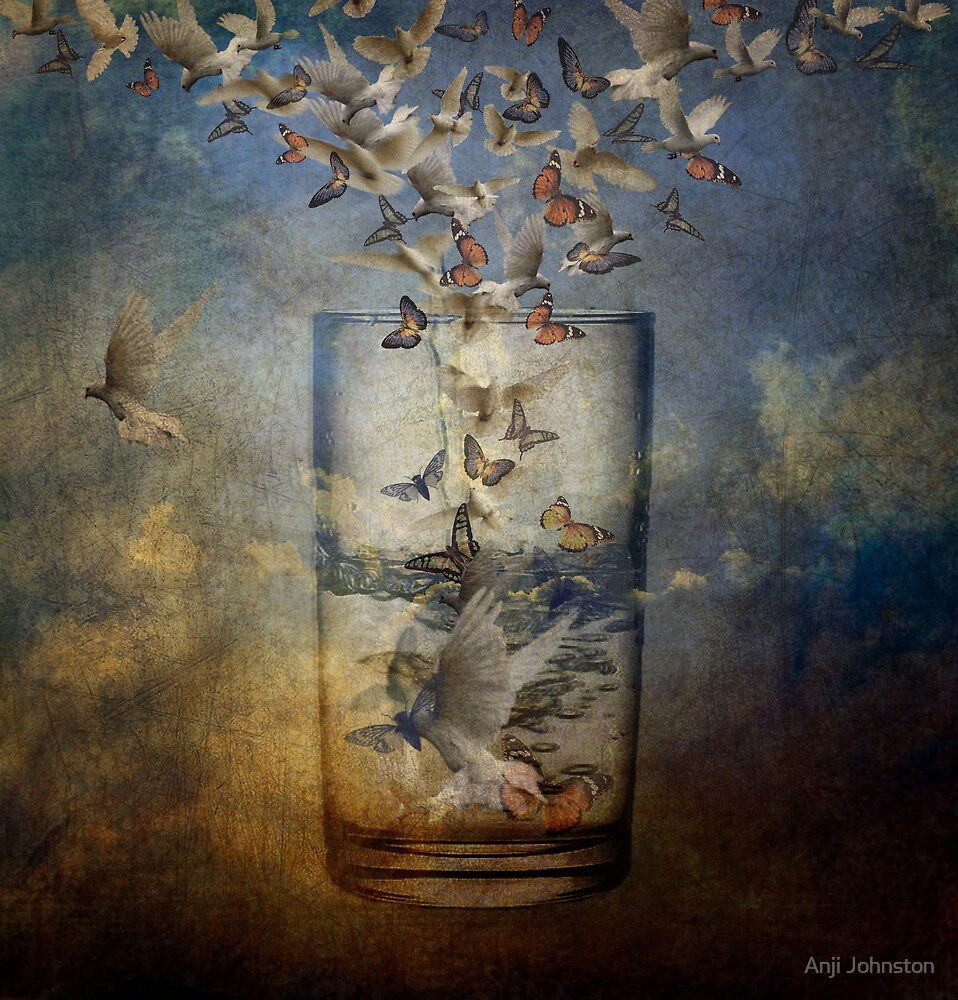 Always Half Full by Anji Johnston