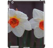 White Daffodils  iPad Case/Skin