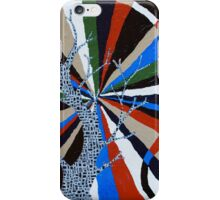 Rainbow around a Tree; Or ideas from Someones Mind iPhone Case/Skin